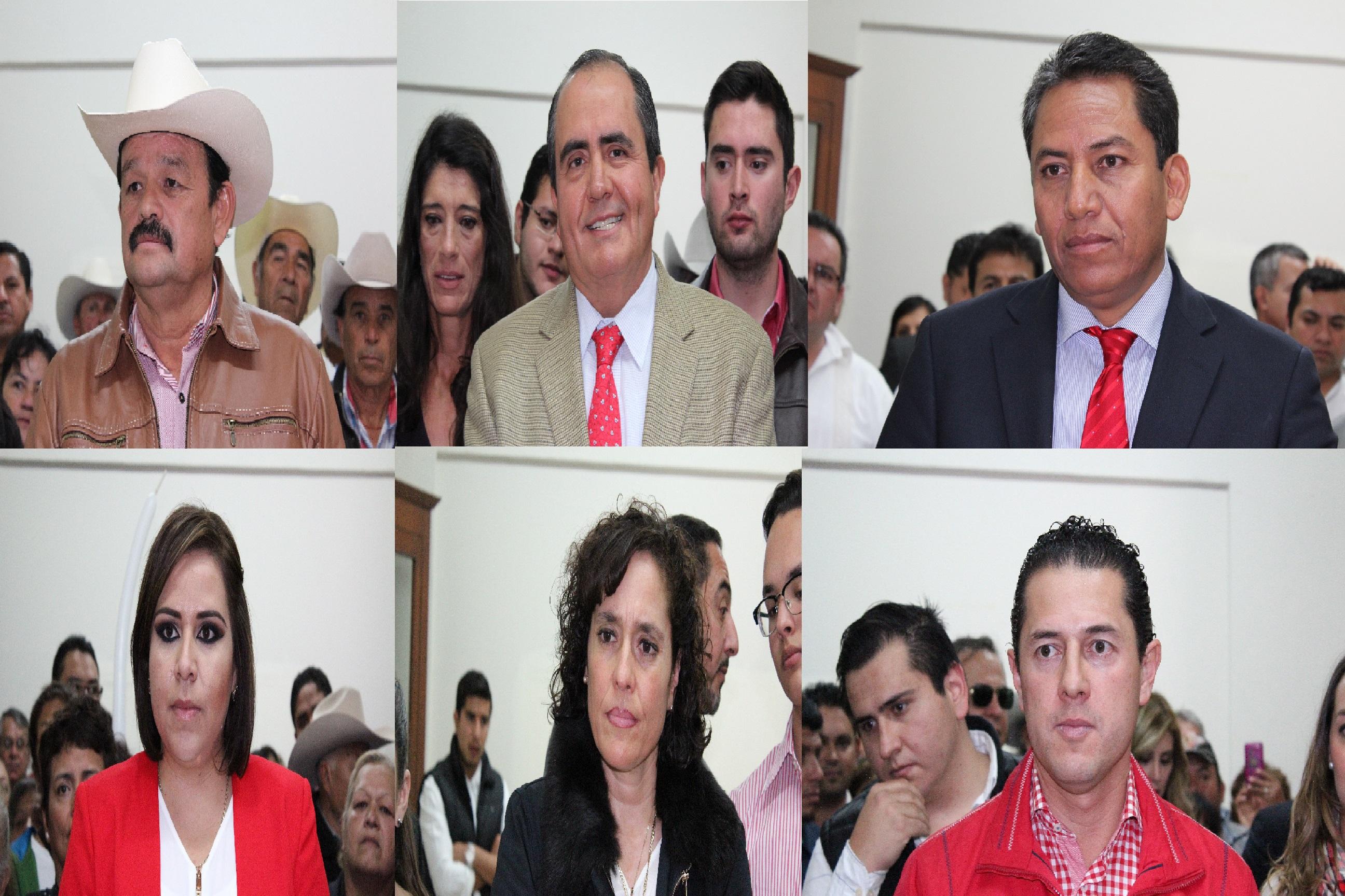 Seis priistas quieren el primero y segundo distrito electoral federal