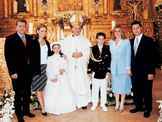 Descubren Casa Blanca ahora al Presidente Peña Nieto