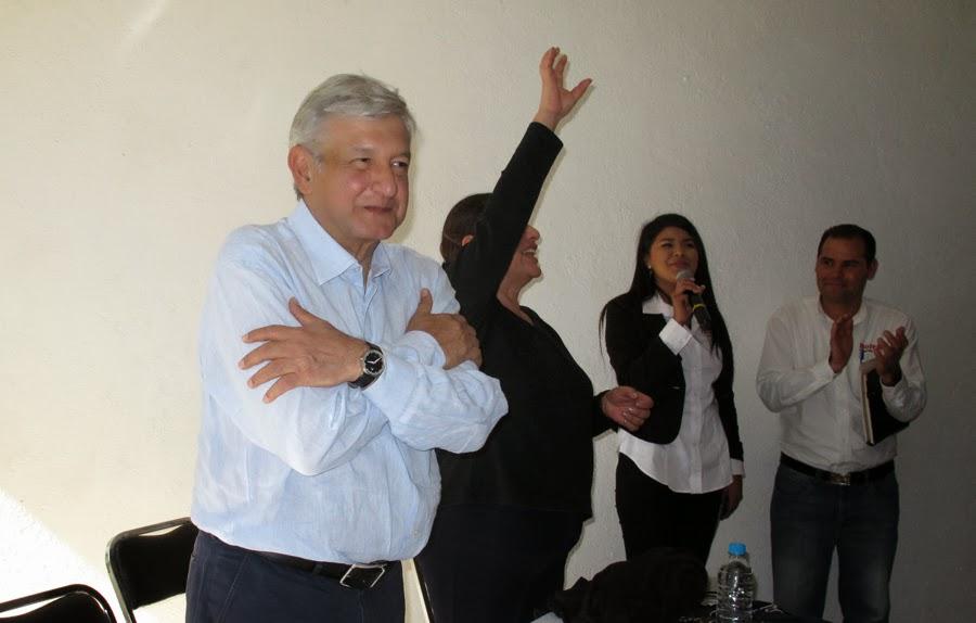 Anuncia López Obrador denuncia contra el Gobernador Lozano
