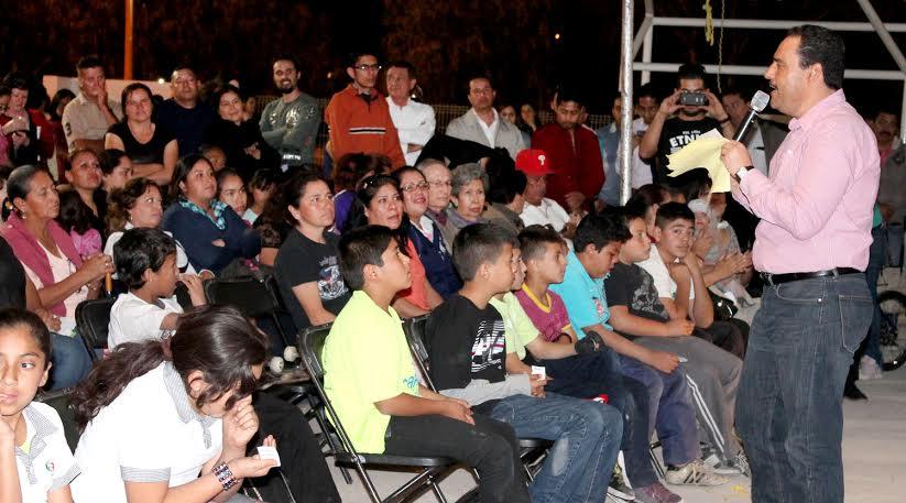 Anuncia alcalde @TMartinDelCampo colector pluvial en la Constitución