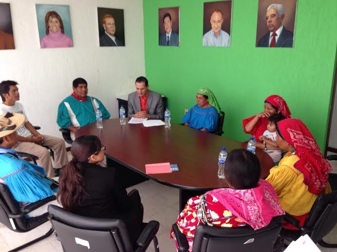 Indígenas presentan queja en contra del PFNSM @rdzoswaldo