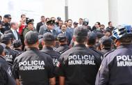 Reconoce @MunicipioAgs a preventivos que participaron en rescate de mujer secuestrada