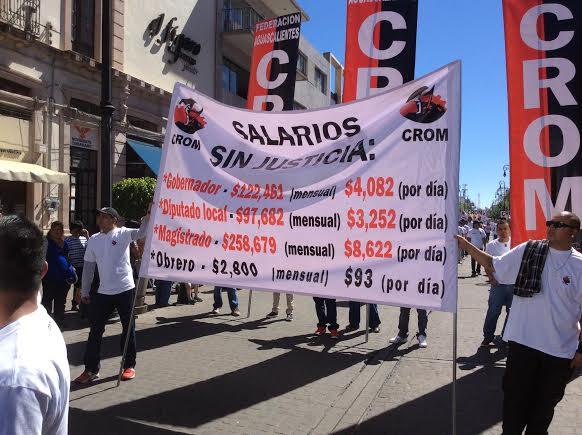 Sindicatos están contentos @CarlosLozanoAgs
