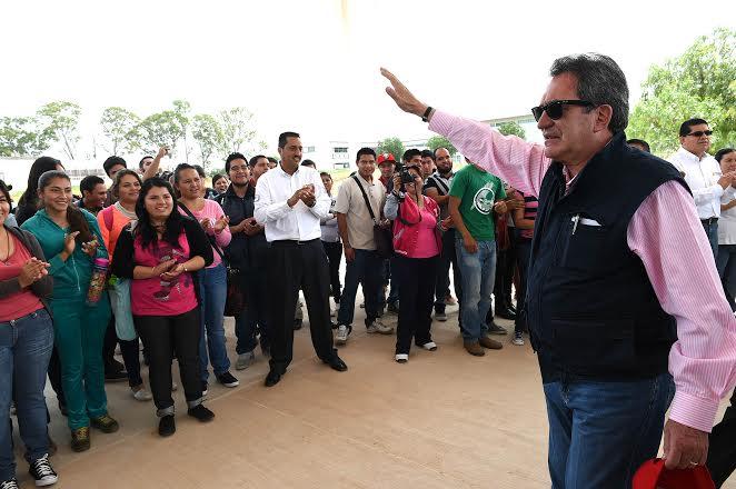 La despedida a Carlos Lozano