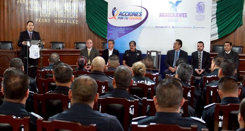 Sancionados 4 policías por abuso de autoridad @MunicipioAgs