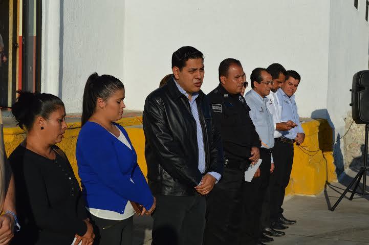 Entrega @MpioCalvillo seguro de vida a familiares de preventivo fallecido