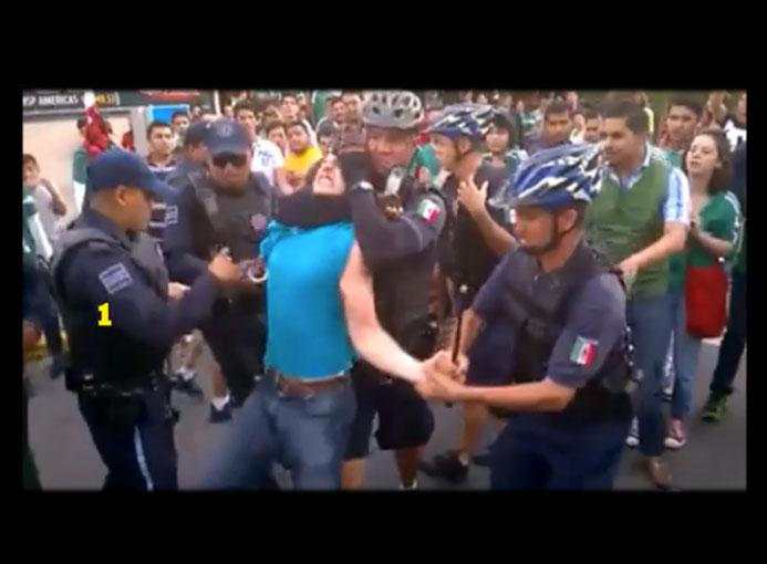 Podría llegar a la CNDH abuso policial