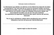 Alerta @CondusefMX sobre correo falso de BANAMEX