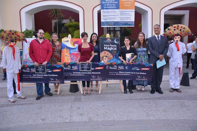 Premian en @Jesus_Maria_ a ganadores del cartel de la Feria de los Chicahuales 2015