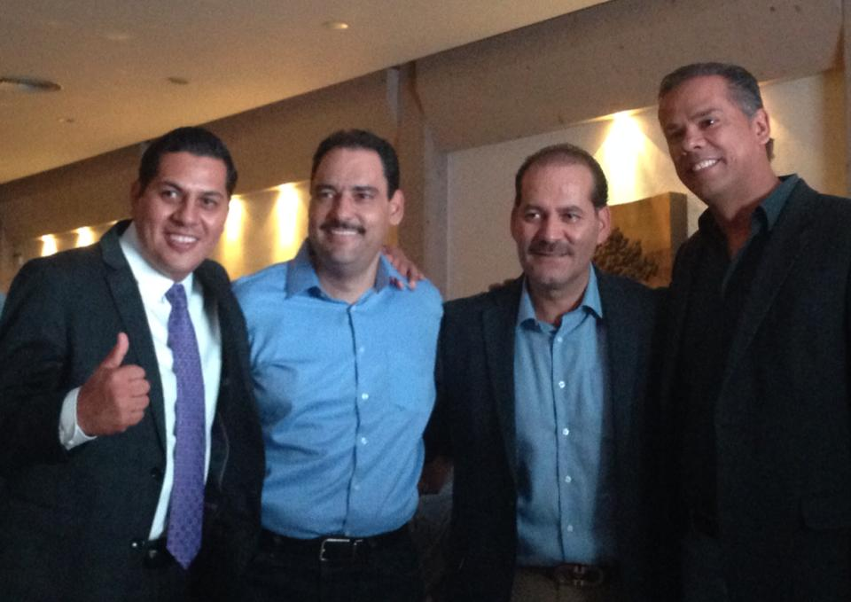 Respalda @JavierLuevanoN a @MartinOrozcoAgs en sus aspiraciones de ser gobernador