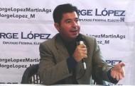 Promoverá @JorgeLopez_M sanciones para gobernantes abusivos
