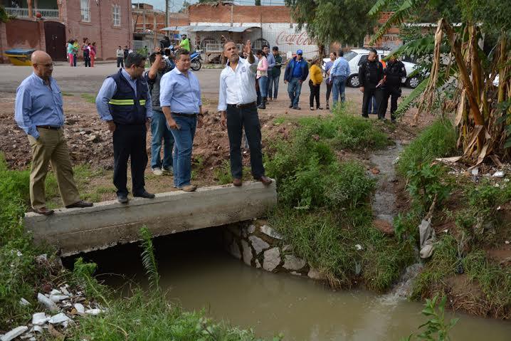 Promete Ayuntamiento de @Jesus_Maria_ apoyo a damnificados por lluvia