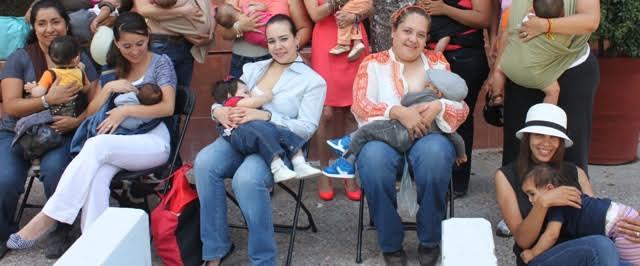 Sólo el 37% de las mamás amamantan entre 6 y 8 meses: @SaludAgs
