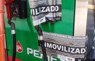 Libera Profeco bombas despachadoras de gasolina inmovilizadas