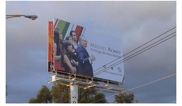 Acusan a Miguel Romo de usar imagen no autorizada para su informe