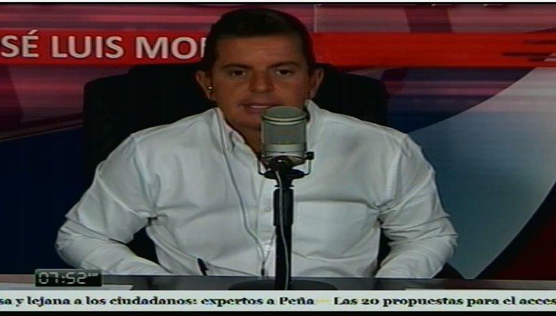 Lanzan campaña para retirar del micrófono a José Luis Morales