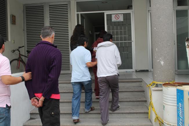 Consignan a secuestradores de Luisito