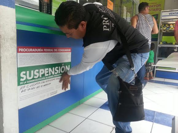 Suspende PROFECO operaciones en 4 casas de empeño