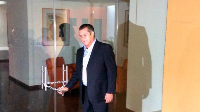 Critica Gobernador la clausura de la Casa de Gobierno en Nuevo León