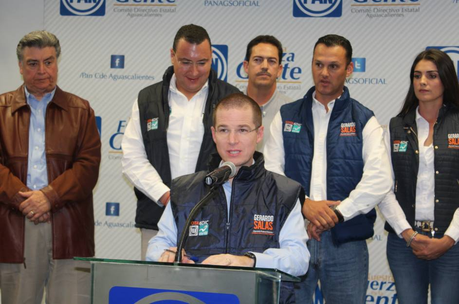 Con estatutos panistas saldrán candidatos en 2016: @RicardoAnayaC