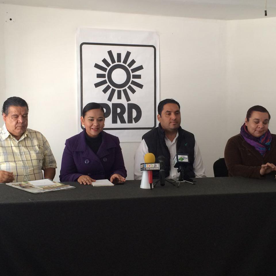 Lanza reto el PRD al PRI