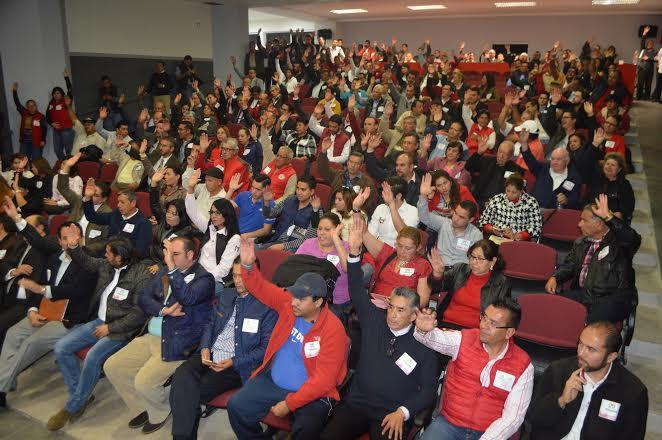 Delegados eligirán candidato a Gobernador en el @PRIAguas