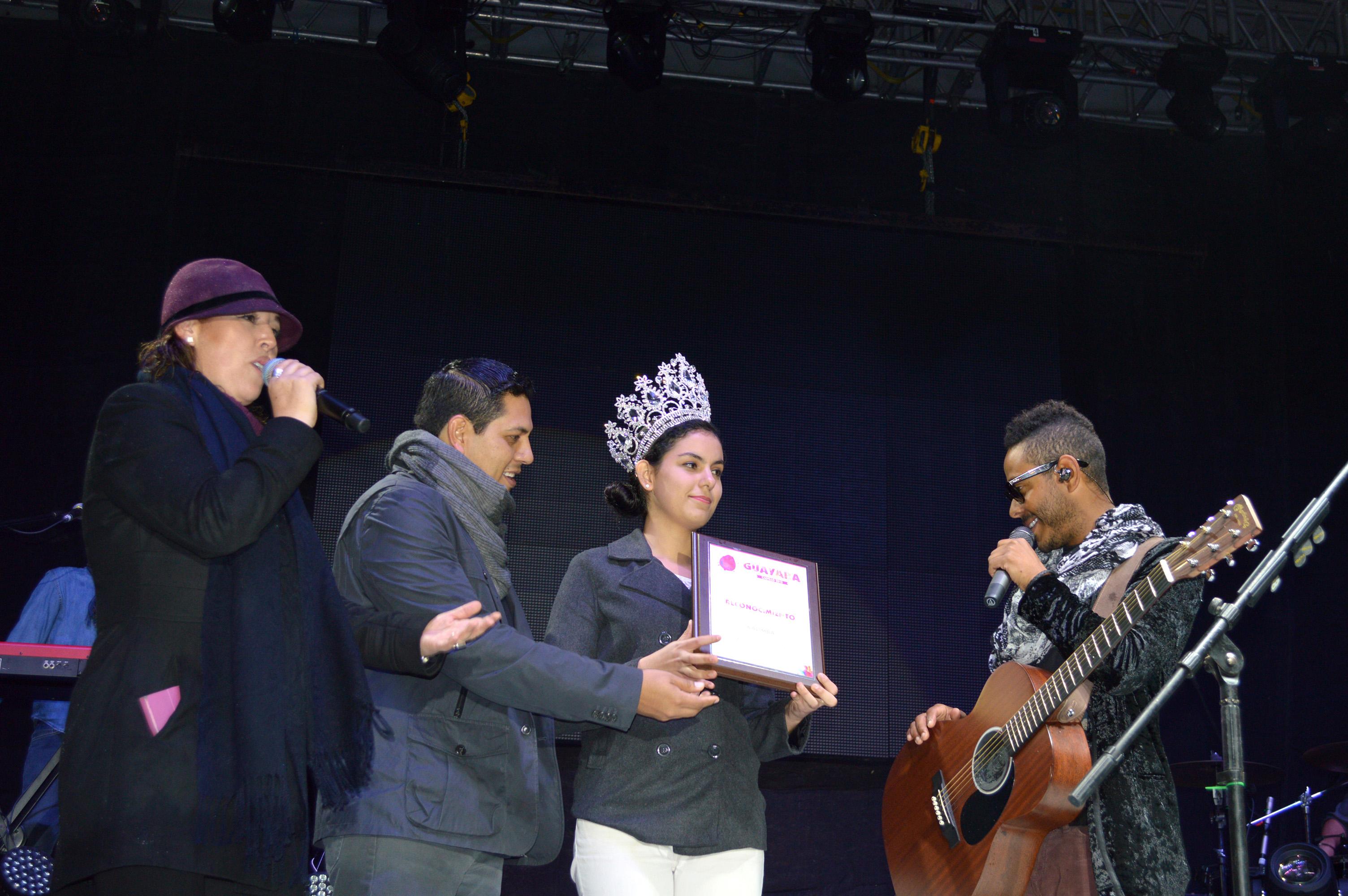 Presentación de Kalimba en la Feria de la Guaya #Calvillo 2015