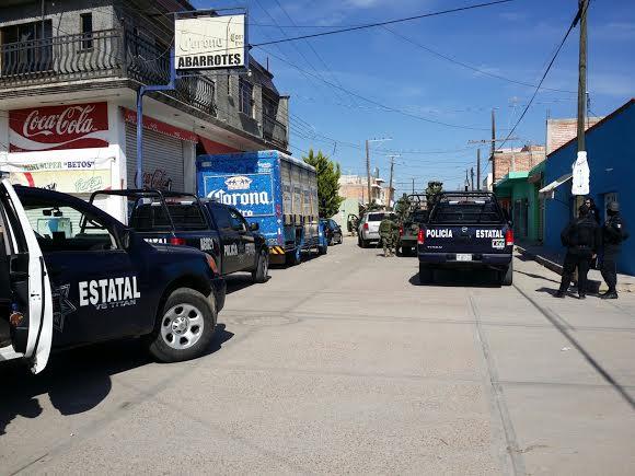 Operativo en la Frontera Aguascalientes-Zacatecas