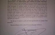 Renuncia Gilberto Luévano al PRI