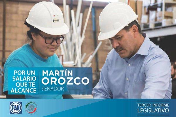 ¡Gober, gober, gober!, le gritan a @MartinOrozcoAgs en su informe