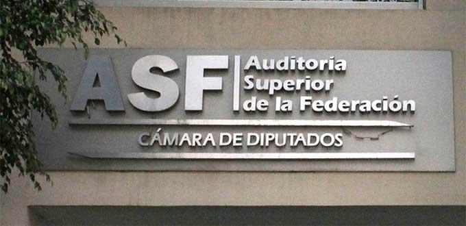 Reclama la ASF al estado 46 millones de pesos