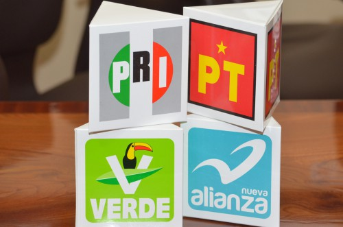 Mega alianza Pri-Verde-Panal-Pt nace fracturada