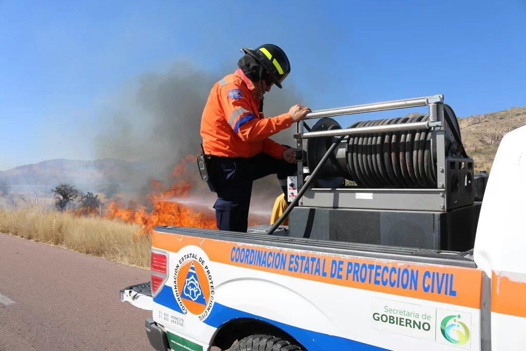 Registra Aguascalientes más de mil incendios en menos de dos meses