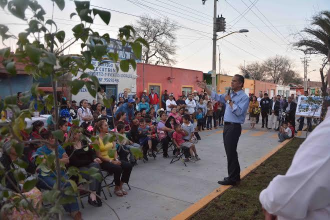 Inaugura alcalde de @jesus concreto hidráulico en Valladolid