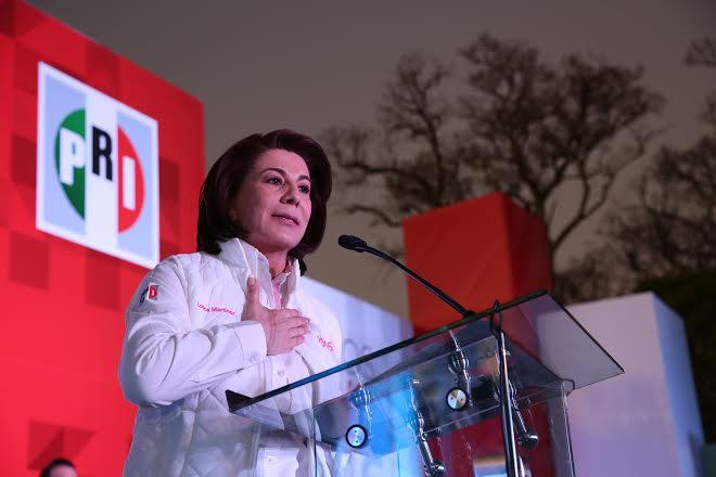 Acepta la derrota Lorena Martínez