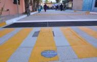Entregó @arambulaantonio obra de pavimentación en Margaritas