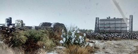Nevada en San José de Gracia