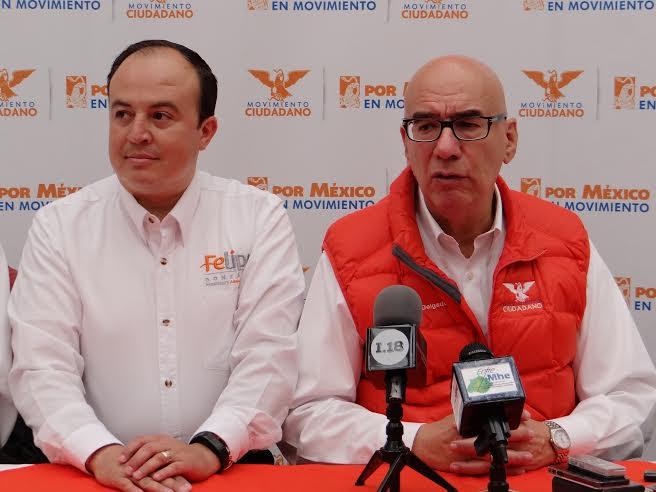No habrá alianzas de facto en Aguascalientes: @DanteDelgado