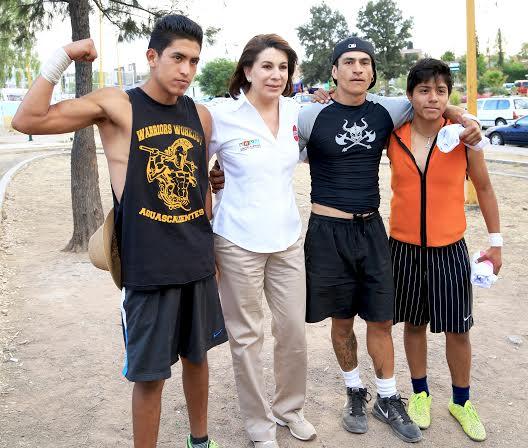 Con @LorenaMartinez la juventud será escuchada y atendida