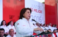 Compromete @LorenaMartinez al magisterio Hospital Regional del ISSSTE