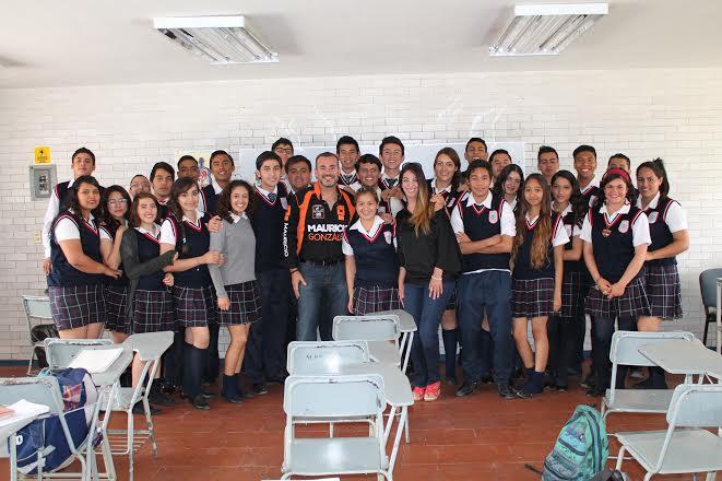 El independiente @mauricioags2016 sostuvo encuentro con estudiantes