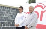Candidata de MORENA se manifiesta a favor del aborto y matrimonios igualitarios frente a Consejo de Laicos