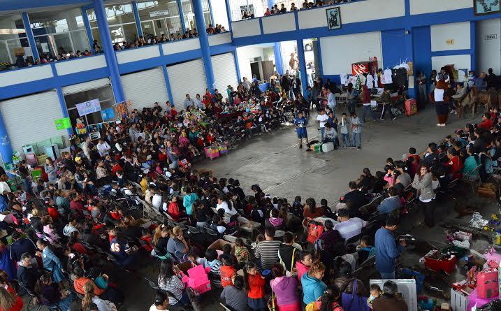Participación comunitaria del @MunicipioAgs en Delegación Terán