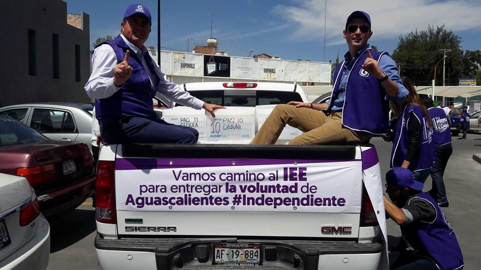 Candidato independiente recibirá para campaña el sueldo mensual de un consejero