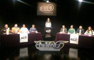 Debaten 8 con aspiraciones de ser alcaldes de Aguascalientes