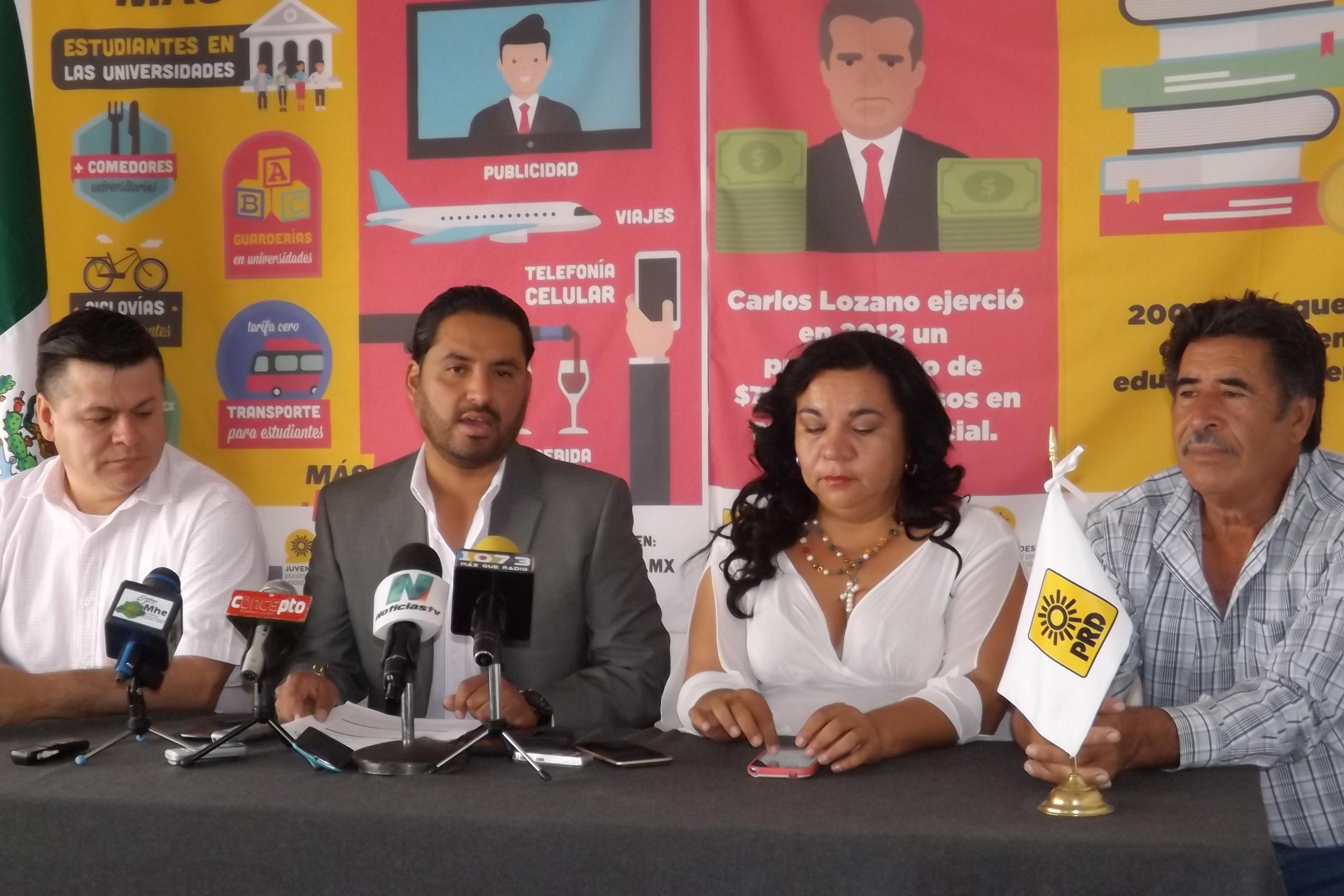 Detestable la guerra de encuestas y señalamientos entre PRI y PAN: Nájera