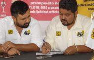 Revela Candidato del PRD propuestas de su gabinete