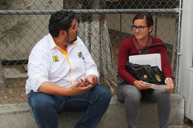 Ofrece candidato perredista a estudiantes, tarifa cero en Transporte Público