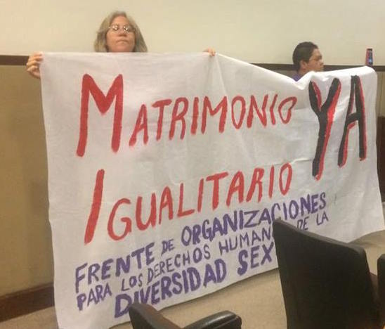 Truena PRD contra diputados por su pasividad para legislar matrimonios igualitarios