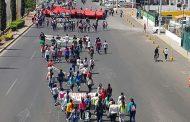 Marcha conmemorativa de normalistas